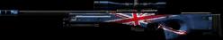 ENGLANDFLAG L96A1 BLACK MAGNUM