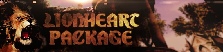 Lionheart Package Banner (Custom)
