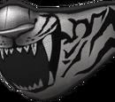 Snow Tiger Bandit Mask