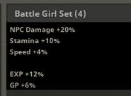 Battle Girl Set