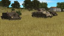 Sherman and carriers