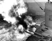 USS Nevada Utah Beach