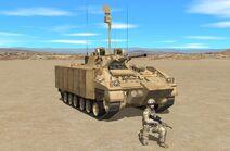 Warrior observation vehicle