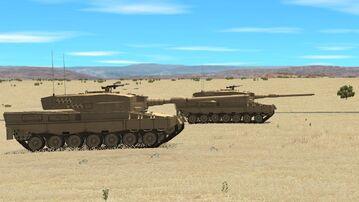 Leopard 2A4 canada