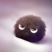 Fluffy is angry by kikariz-d32pwep