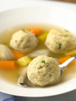 Matzah-ball-soup