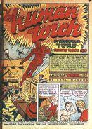 Human Torch Comics Vol 1 1 001