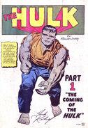 Incredible Hulk Vol 1 1 001
