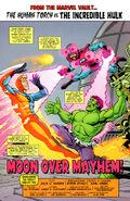 Incredible Hulk & The Human Torch Vol 1 1 001