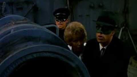 BATMAN '66: Green Hornet (s1 e 13 The Secret Of The Sally Bell)