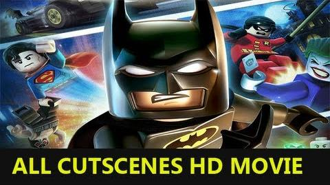 Lego Batman 2 DC Super Heroes all cutscenes HD Movie-0