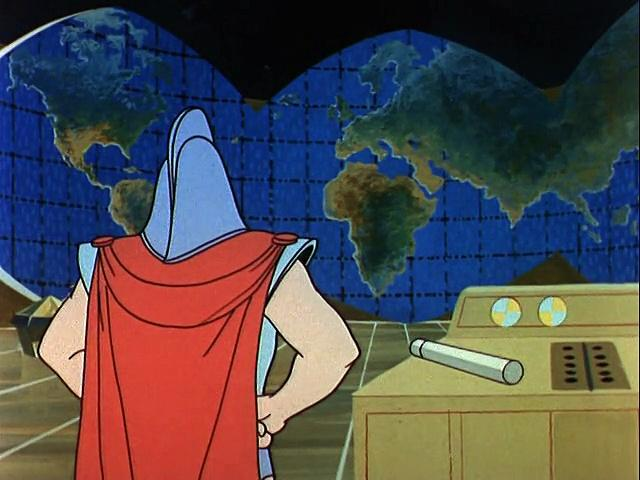 Filmation 1967: The Adventures Of Aquaman s1 ep17 Where Lurks the Fisherman!
