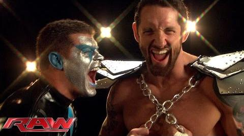 A special message from Stardust and King Barrett Raw, Aug. 17, 2015