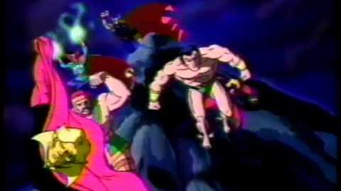 Marvel Action Universe animated opening