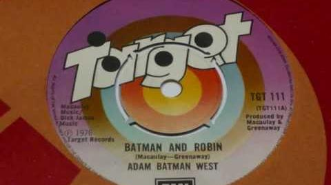 ADAM WEST - BATMAN AND ROBIN (1976)