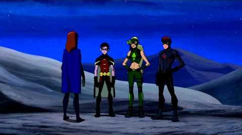 DC COMICS: Young Justice s1 ep09 Bereft