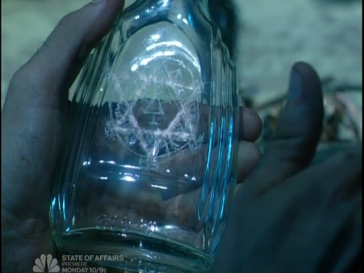 DC COMICS: NBC Constantine bio Seal of Solomon | Comic books