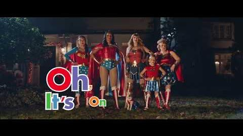 WONDER WOMEN Party City. Oh, it's on.