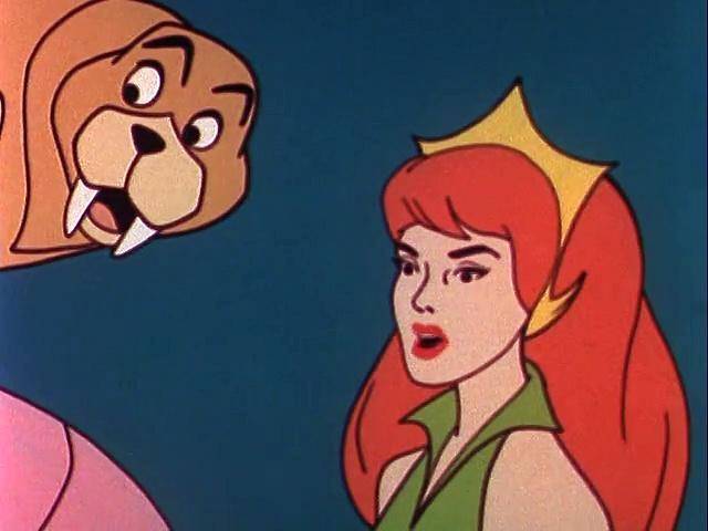 Filmation 1967: The Adventures Of Aquaman s1 ep11 Vassa, Queen Of The Mermen