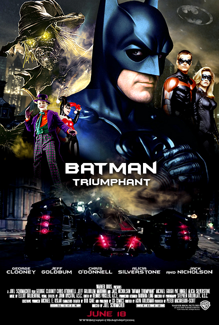 DC COMICS IN THE MEDIA · Batman triumphant fan poster by timmax9-d87qgvd c1ff05e3c2