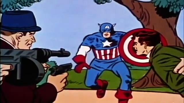 1966 The Marvel Super Heroes: Captain America 1966 (ep 4 Return Of Captain America)