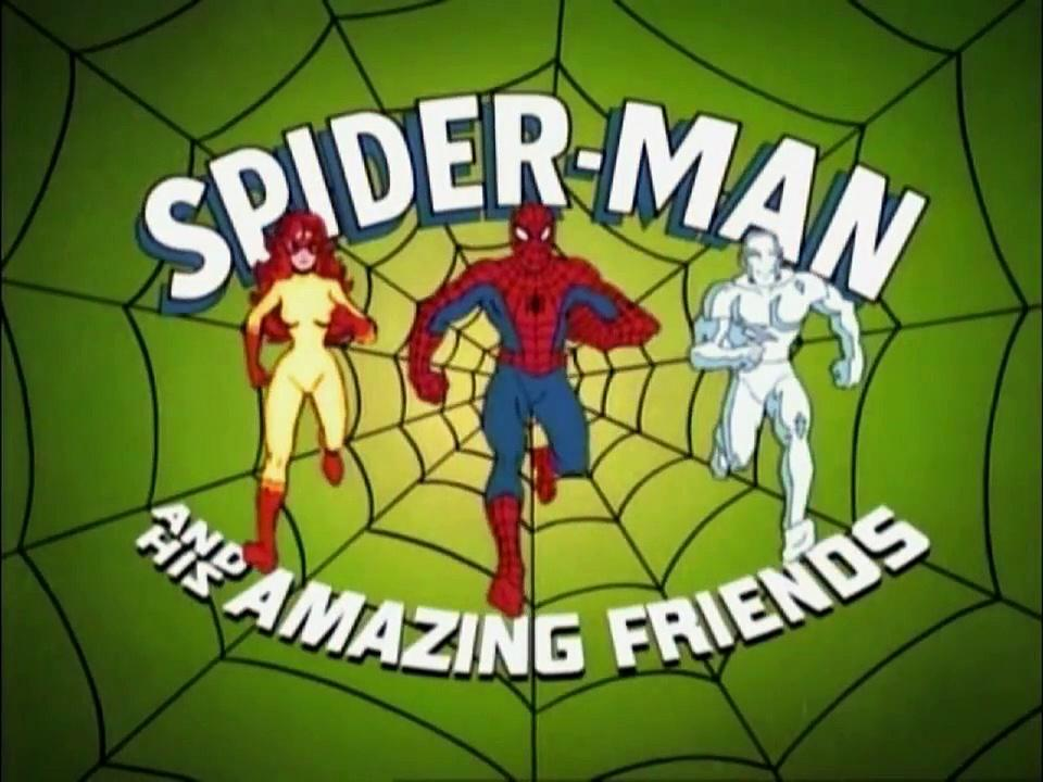 SPIDER MAN AND HIS AMAZING FRIENDS -The crime of all centuries-