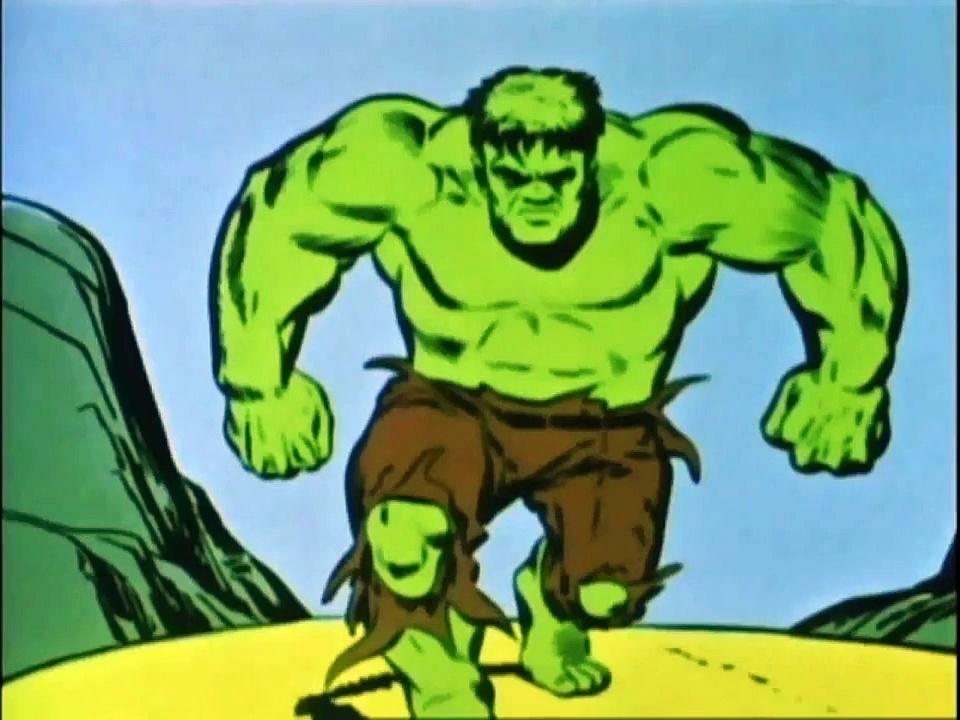 1966 The Marvel Super Heroes The Incredible Hulk (s1 ep4 The Power Of Dr. Banner)