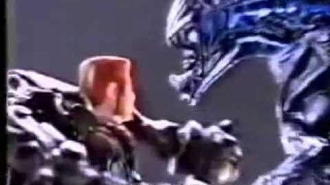 Aliens Flying Queen Action Figure TV Commercial - 90s Toys - Aliens Action Figures Toy Commercial