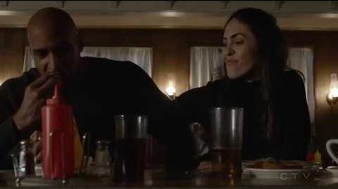 Marvel's Agents Of Shield Season 4 Finale Scenes The Team is Captured Wilson wakes up in space
