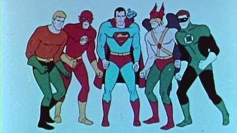 Justice League of America - 1967 Cartoon Intro