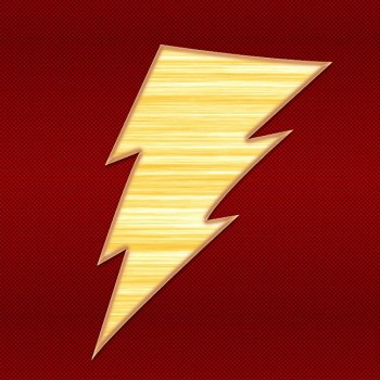 Image result for shazam dc logo