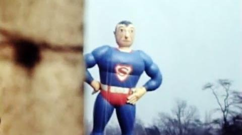 1940 Superman Balloon in Macy's Thanksgiving Day Parade