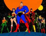 DC COMICS: DC Animated Universe Early Draft Justice League