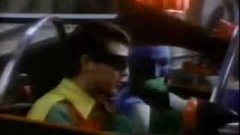 1980's Zayre 's Commercial showing the 1 1966 Batmobile