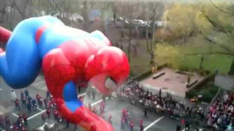 2009 Macy's Thanksgiving Day Parade Spider-Man