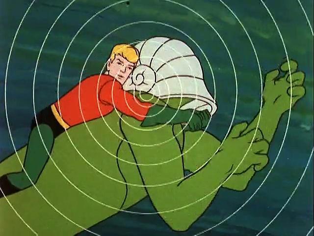 Aquaman ('67) 21 Goliaths Of The Deep-Sea Gorge