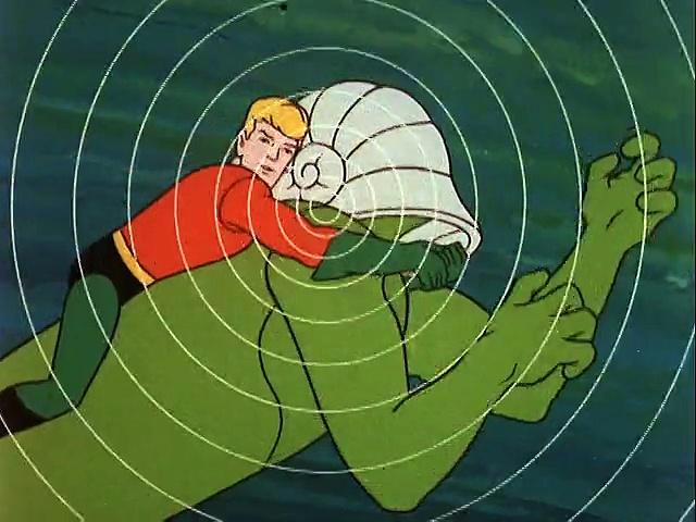 Filmation 1967: The Adventures Of Aquaman s1 ep21 Goliaths Of The Deep-Sea Gorge