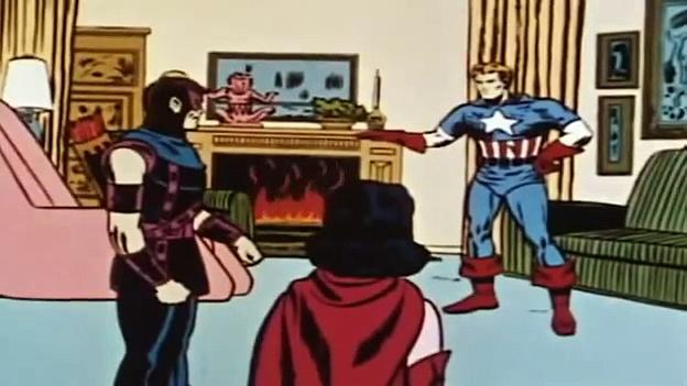 1966 The Marvel Super Heroes: Captain America 1966 (ep 9 Bitter Taste Of Defeat)