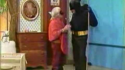 Adam West (Batman) appearance on the PPP