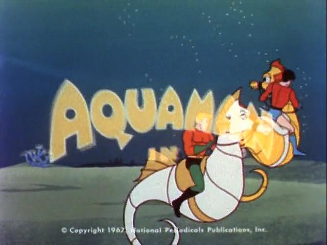 Filmation 1967: The Adventures Of Aquaman s1 ep06 War Of The Water Worlds