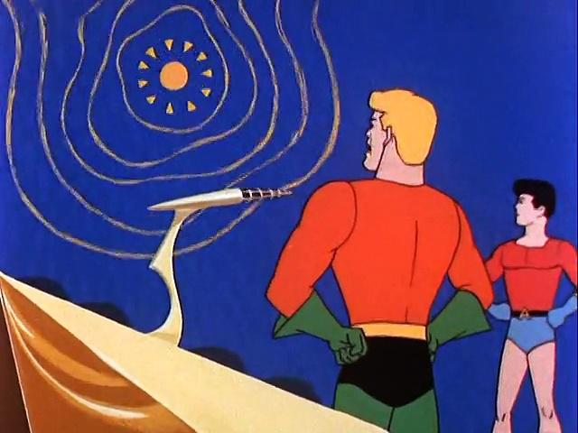 Filmation 1967: The Adventures Of Aquaman s1 ep07 The Volcanic Monster