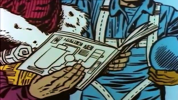 1966 The Marvel Super Heroes: Captain America 1966 (ep 6 The Revenge Of Captain America)
