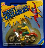 Mighty Crusaders Web motorcycle