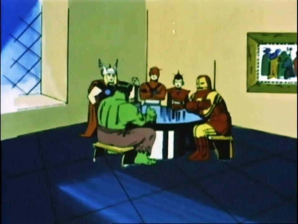 1966 The Marvel Super Heroes The Incredible Hulk (s1 ep8 The Space Phantom)