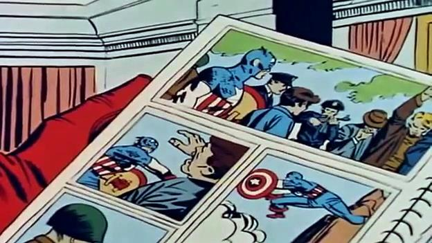 1966 The Marvel Super Heroes: Captain America 1966 (ep 7 Let The Past Be Gone)