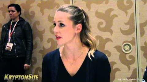 SDCC 2015 Melissa Benoist (Supergirl) Interview