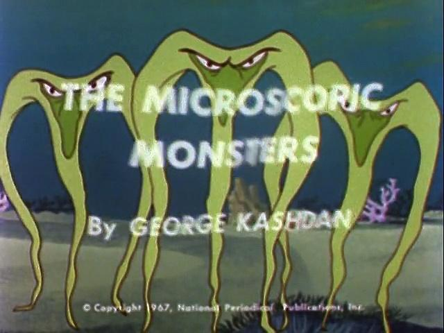 Filmation 1967: The Adventures Of Aquaman s1 ep12 The Microscopic Monsters