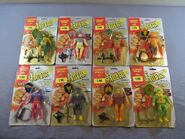 Mighty Crusaders action figures