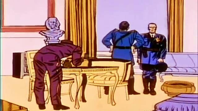 1966 The Marvel Super Heroes: Captain America 1966 (ep 2 The Sentinal And The Spy)