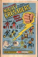 Mighty Crusaders action figures ad